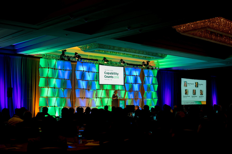 Capability Counts 2018 Opening Keynote Session in Main Ballroom