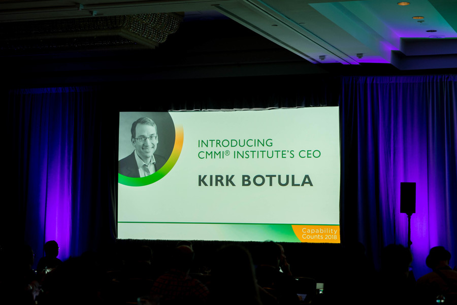 Capability Counts 2018 Opening Session with Kirk Botula presenting