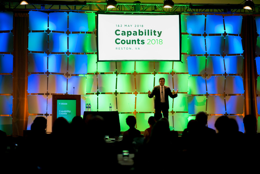 Capability Counts 2018 Opening session- main ballroom