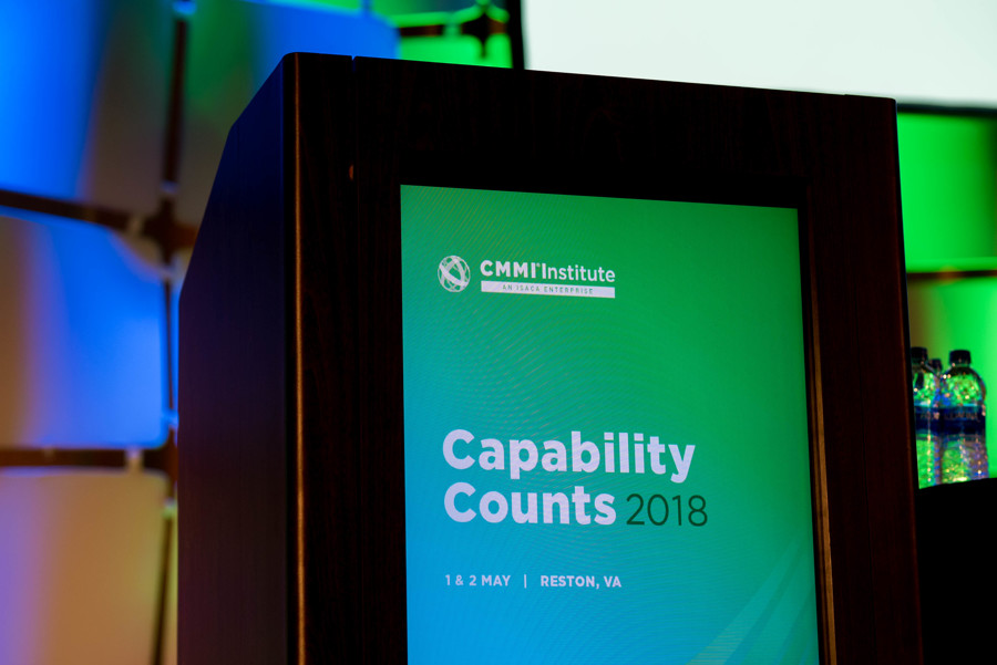 Capability Counts 2018 Main Stage Podium
