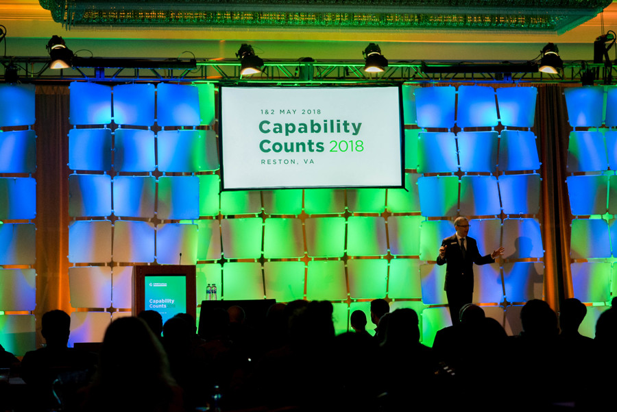 Capability Counts 2018 Main Stage - Audience view